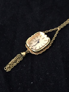 Erman - necklace pendant/pocket watch - early 1970s