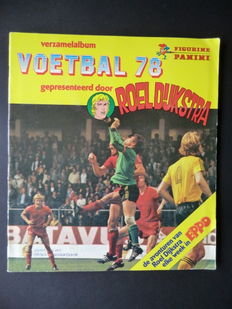 Panini - Voetbal 78 - Complete album - In very good condition.