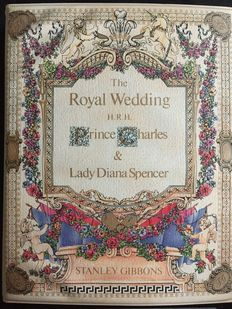 The Royal Wedding 1981 - Stanley Gibbons - Volledige collectie
