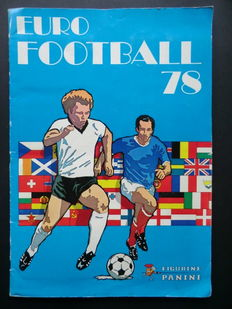 Panini - Euro Football 78 - Complete album - In good condition - Including the extra centre page.