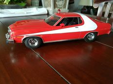 Greenlight - Scale 1/18 - 1976 Ford Gran Torino Starsky and Hutch