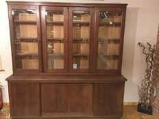 Old pharmacist's cabinet, Italy, ca. 1950