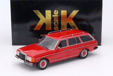 KK-Scale - Scale 1/18 - Mercedes-Benz 250T W123 Station Wagon - Red