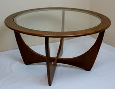 V. B. Wilkins for G-Plan – teak and glass coffee table