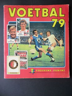 Panini - Voetbal 79 - Complete album - In very good condition.