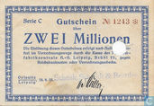Oelsnitz 2 Million Mark 1923