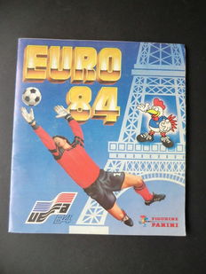 Panini - Euro 84 France - Complete album - Beautiful condition