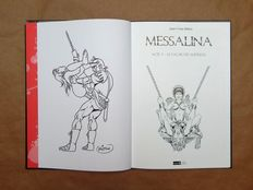 BD; Jean-Yves Mitton - Messalina T5: Le palais des supplices - 2015