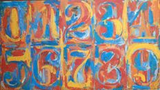 Jasper Johns - Zero Through Nine (1961)