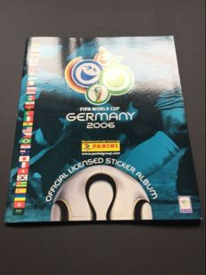 Panini - Worldcup 2006 - Dutch edition - Complete album including the update stickers.