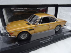 Minichamps - Scale 1/18 - BMW 3.0 CSL Coupé 1972 - Colour Gold Metallic