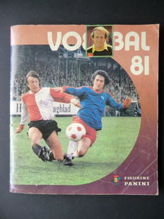 Panini - Voetbal 81 - Complete album - Including 2 original order forms.