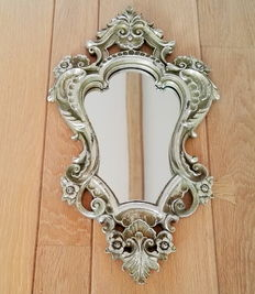 Mirror in Louis XV style.