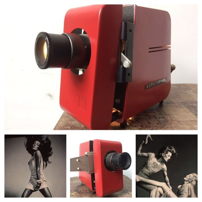 ddr slide projector custom made with 4 stylish slides catawiki