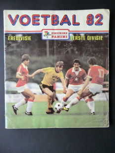 Panini - Voetbal 82 - Complete album - Including 2 original order forms.