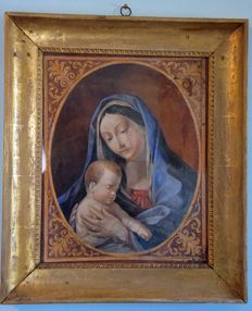 Neoclassical - Madonna with child, Italy, ca. 1800