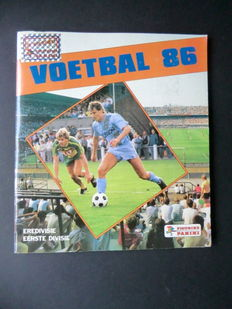 Panini - Voetbal 86 - Complete album - In beautiful condition.
