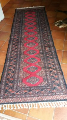 hand-knotted oriental carpet