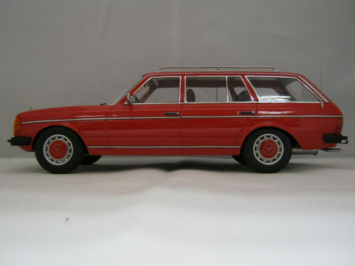 Kk Scale Scale 1 18 Mercedes Benz 250t W123 Station Wagon Red