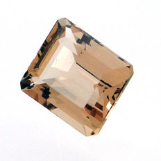 Peach morganite, 4.13 ct