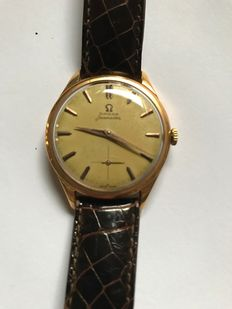 Omega – Seamaster model – In yellow gold – From the 1950s/60s