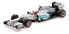 Minichamps - Schaal 1/18 - Mercedes AMG Petronas F1 Team F1 W03 M. Schumacher Monaco GP 2012 1st In Qualifying