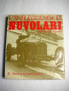 "Very rare ""L'antileggenda di Nuvolari"" book, published by Sperling & Kupfer in 1972."