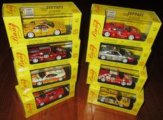 Bang Model - Scale 1/43 - Lot with 8 model cars: 8 x  Ferrari F355 Berlinetta International Challenge 1996