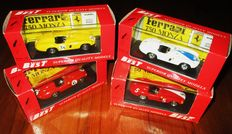 Best Models - Scale 1/43 - Lot with 4 competition Ferrari: 4 x Ferrari  750  Monza - various races 1955