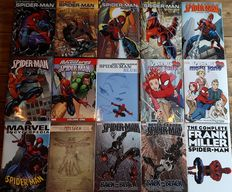 Spider-Man - Hardcover Collection - 15x hc with dust jacket - 1st printing (-1) - (2002 /2008)