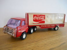 Coca Cola toy truck with trailer from 1969 – USA