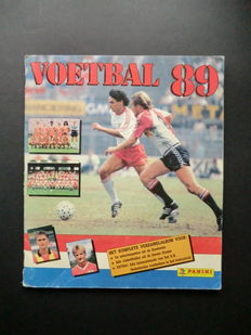 Panini - Voetbal 89 - Complete album - In good condition.