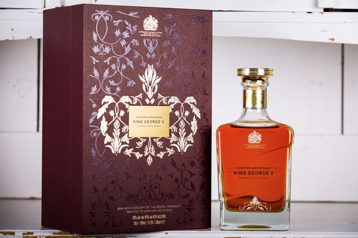 Johnnie Walker King George V - 80th Anniversary Royal Warrant - Limited Edition