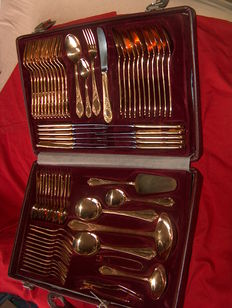 Summer Party - Luxury Cutlery - Gold-plated 23/24 karat gold - 1990