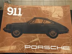 Porsche 911 Classic Poster - Officially released by Porsche