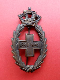 Medals WWII - Red Cross - Armed Resistance - POWs - Commemorative - Belgian Armed Forces