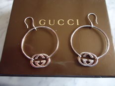 Gucci - Ladies Solid Sterling Silver Earrings - 925