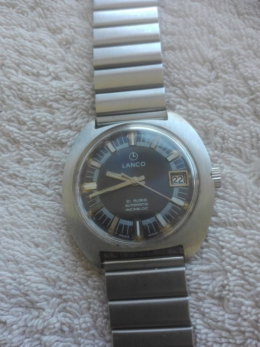 Lanco, men's watch, 1970s