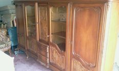 A large Louis XV style cabinet, manufactured by Warring's, Germany, mid 20th century