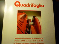 "Lot of 9 issues of Alfa Romeo ""Il Quadrifoglio"" magazine + 8 issues ""BMW Magazine"" and one issue ""JAG Generation"" magazine"