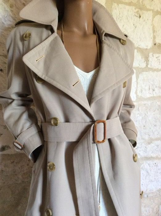 4adfef4d8d6f Burberry s – Trench coat Vintage - Catawiki