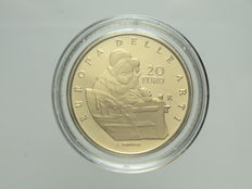 Republic of Italy – 20 Euro 2008 'Europa delle Arti – Olanda' ['Europe of Arts – Holland'] – Gold