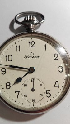 Pocket watch Perseo FS (state railway), men's, 1940s