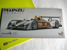 Beautiful commemorative tile, for the participation of Audi to Le Mans 24 hours, 2009