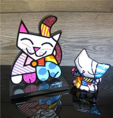Romero Britto - 2 Cats