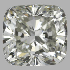 1.01ct Cushion Modified Brilliant Diamonds J VS1 GIA serial # 1775 original image-10x