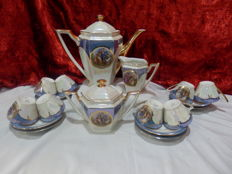 Coffee Set with 8 teacups, Teapot, Sugar Bowl and Milk jar - Vista Alegre