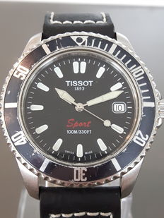Tissot Sport -- men's wristwatch -- 21st century
