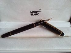 Montblanc meisterstuck 144 Black Precious Resin 4810 14K Gold Nib Fountain Pen