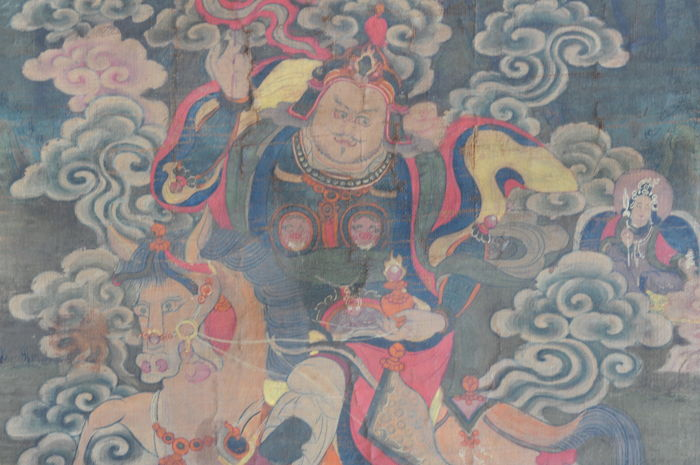 Thanka Dharmapala – Tibet – late 18th century